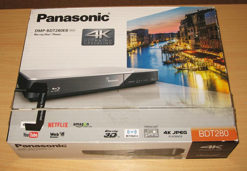 panasonic 3d blu ray player manual